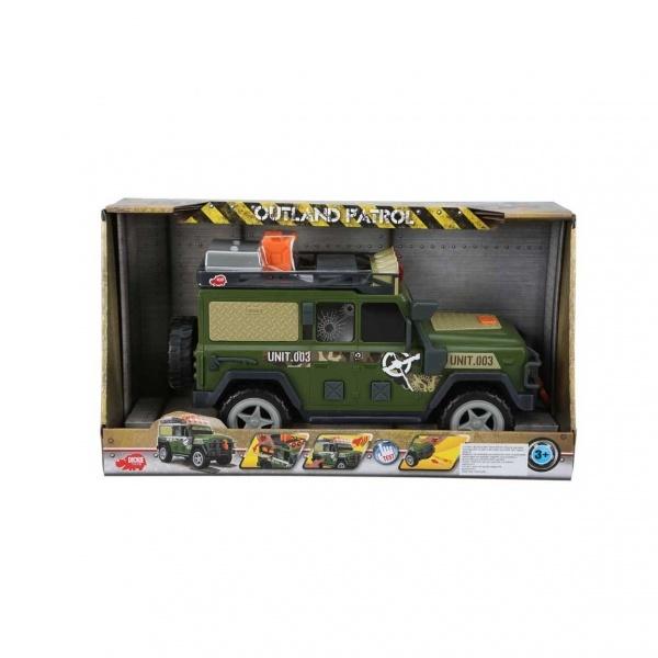 Sesli ve Işıklı Askeri Jeep 34 cm.