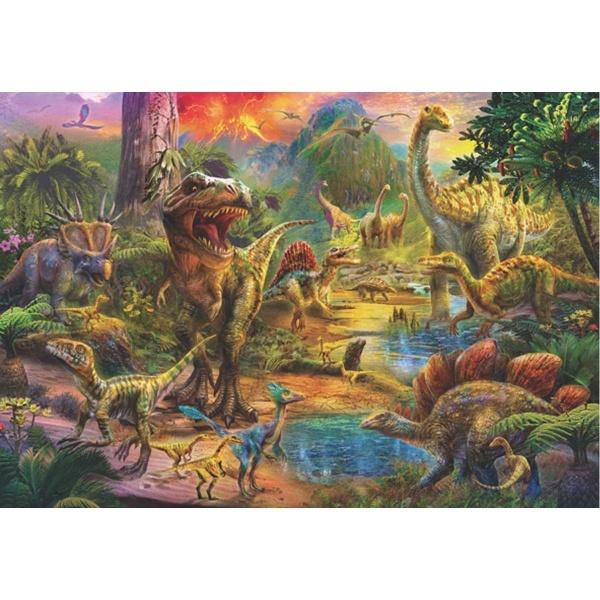 500 Parça Puzzle : Dinozor Krallığı