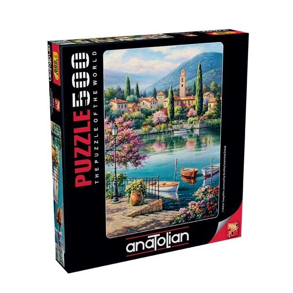 500 Parça Puzzle : Gölde Akşamüstü