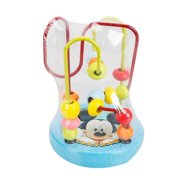 Mickey Mouse Ahşap Boncuk Oyunu