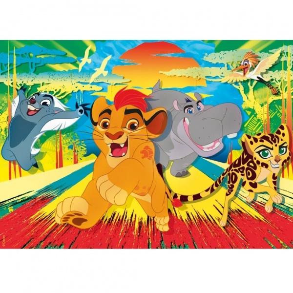 60 Parça Puzzle : Lion Guard