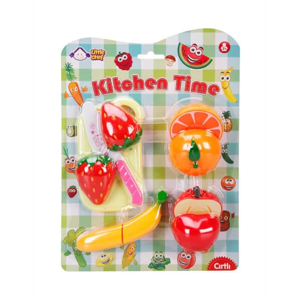 Kesme Tahtalı Meyve ve Sebze Seti