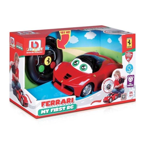 Bb Junior Ferrari İlk Uzaktan Kumandalı Arabam