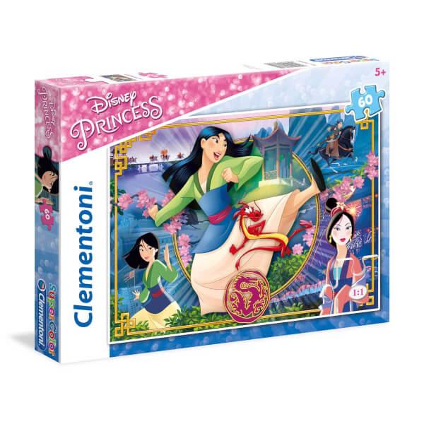 60 Parça Puzzle : Princess Mulan