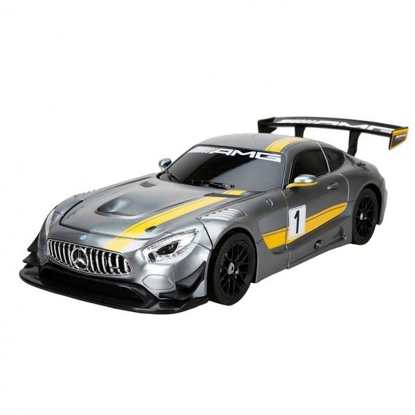Mercedes Benz AMG GT3 Dönüşebilen Uzaktan Kumandalı Sesli ve Işıklı Araba