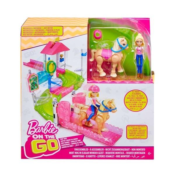 Barbie Hep Yanımda At Yarışı Oyun Seti FHV66