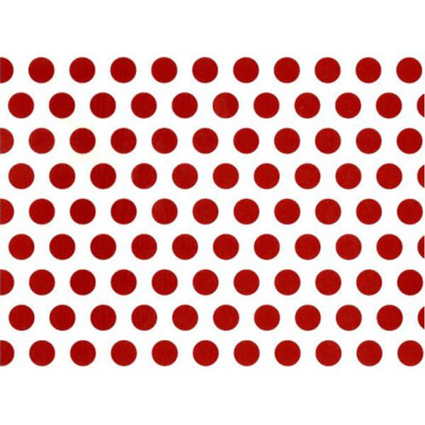 BugyBagy Kırmızı Yuvarlak Duvar Sticker Polska Dots Büyük 100 Adet 5 cm.