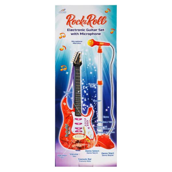 Mikrofonlu Elektronik Gitar