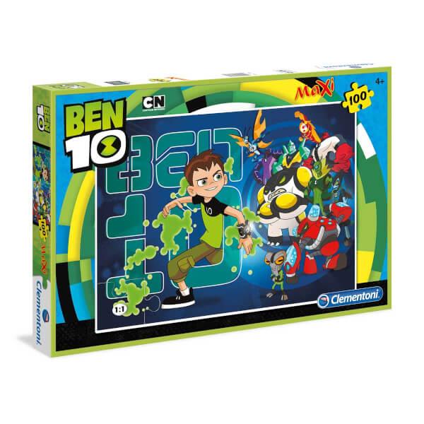 100 Parça Maxi Puzzle : Ben10
