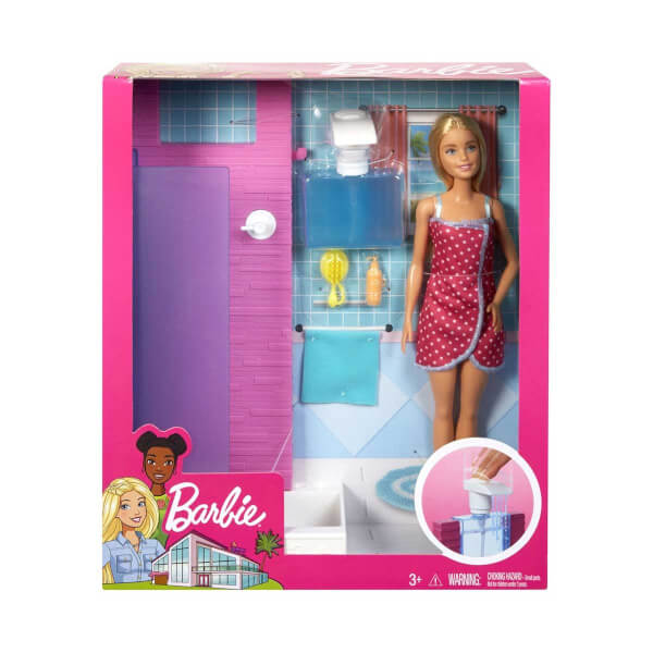 Barbie Oda ve Bebek Seti