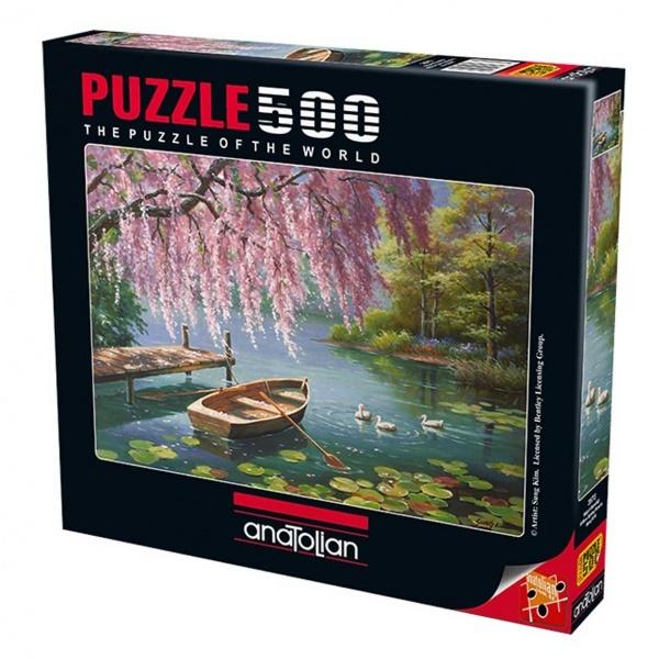 500 Parça Puzzle : Söğüt Güzellği