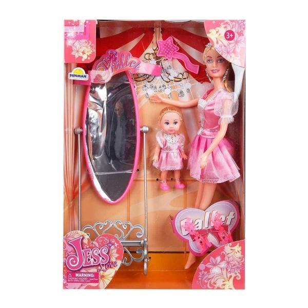 Jess Prenses ve Arkadaşı Bebek Oyun Seti
