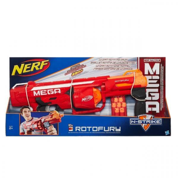 Nerf  N-Strike Mega Rotofury 10 Dartlı