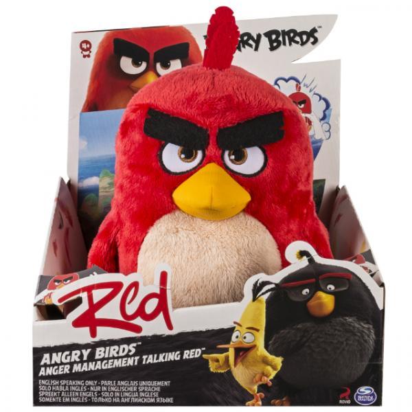 Angry Birds Sesli Peluş 30 cm.