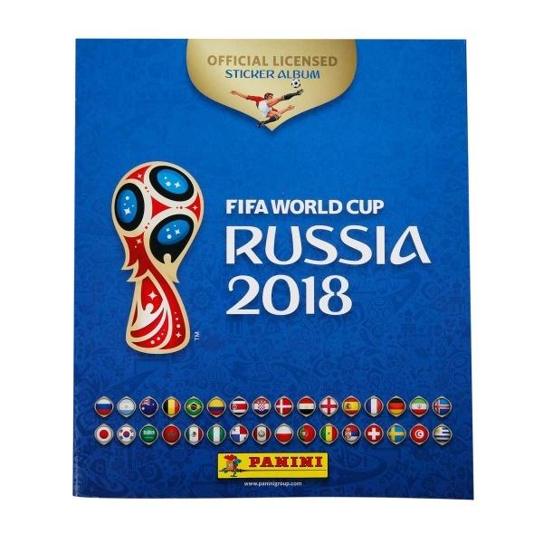 FIFA 2018 Dünya Kupası Sticker Albüm Başlangıç Paketi