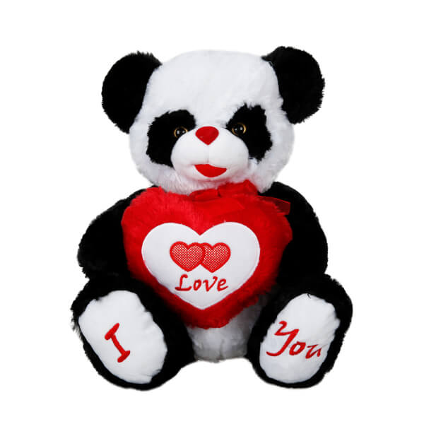 Kalpli Peluş Panda 40 cm.