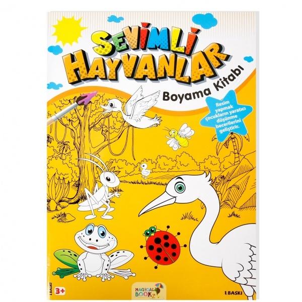 Sevimli Hayvanlar Boyama Kitabı Toyzz Shop