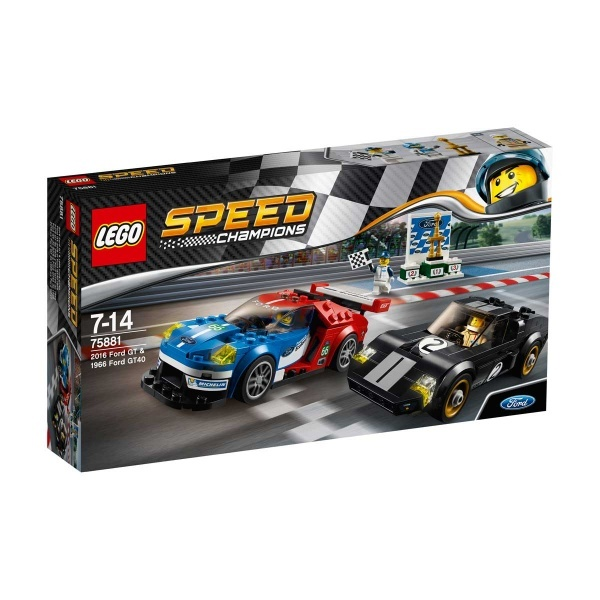 LEGO Speed Champions 2016 Ford GT ve 1966 Ford GT40 75881