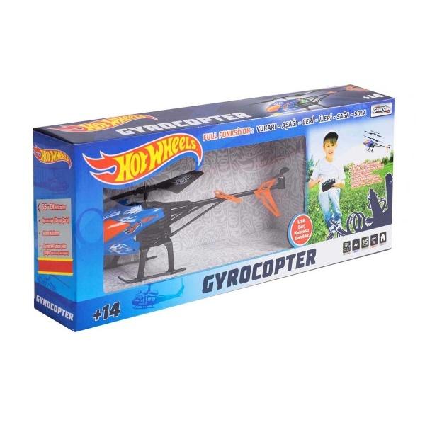 Hotwheels Uzaktan Kumandalı Gyrocopter Helikopter 3.5 Kanal