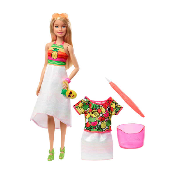 Barbie Crayola Mevyeli Tasarim Bebegi Gbk18 Toyzz Shop