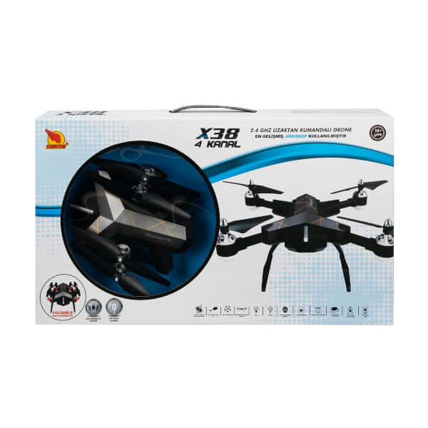 Uzaktan Kumandalı X38 Drone 4 Kanal 2.4 GHz