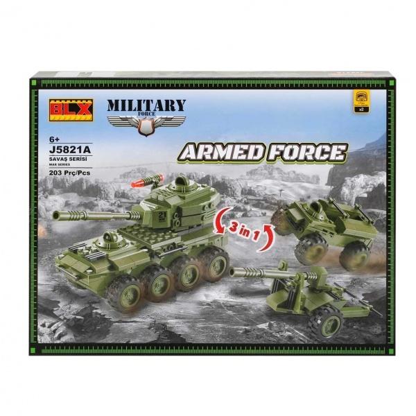 Yapım Seti : Askeri Tank J5821A