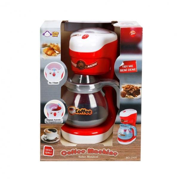 Sesli ve Işıklı Kahve Makinesi