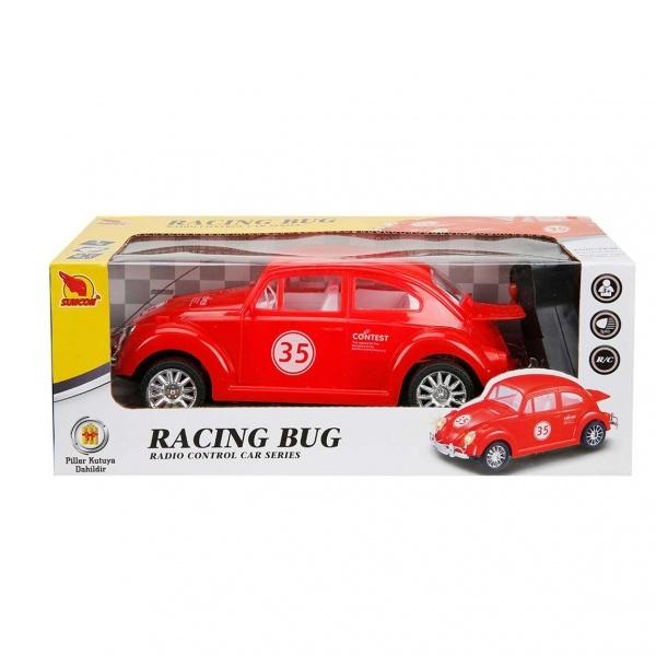 Uzaktan Kumandalı Işıklı Beetle Araba 22 cm.