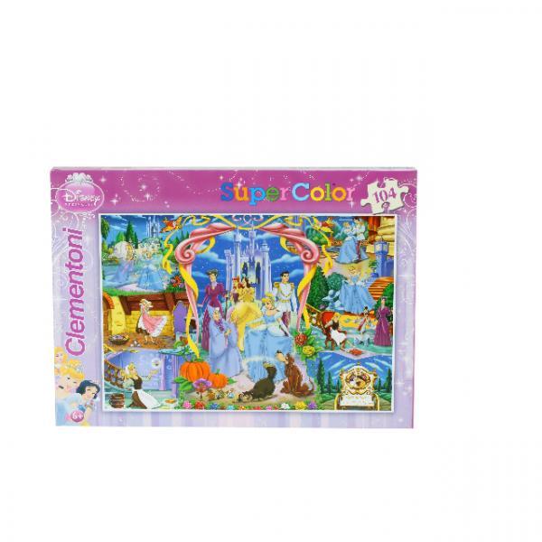 104 Parça Puzzle : Cinderella Story