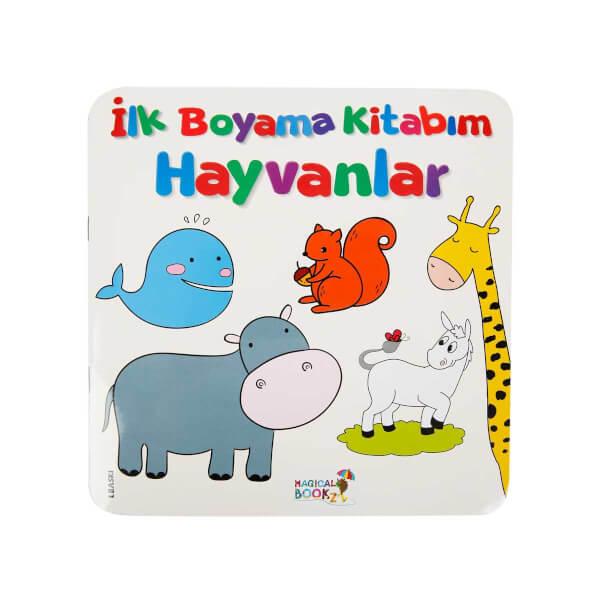 Ilk Boyama Kitabim Hayvanlar Toyzz Shop