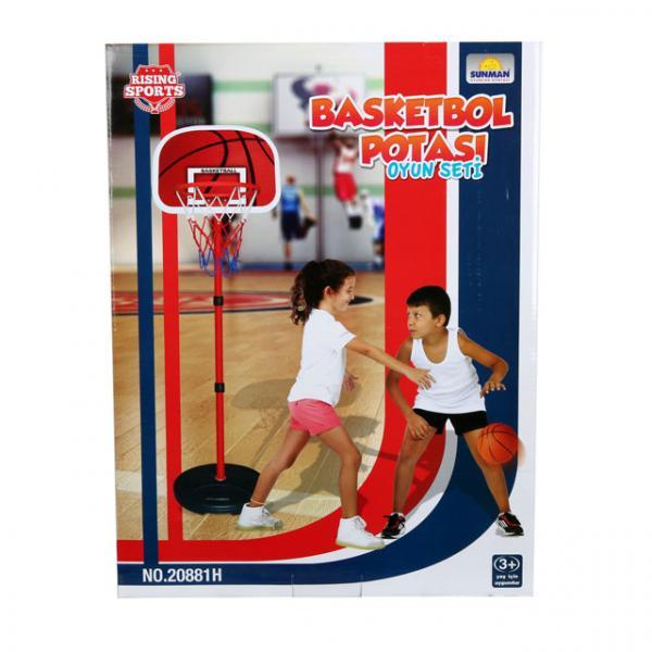 Ayaklı Basketbol Potası 133 cm.