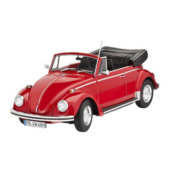 Revell 1:24 VW Beetle Cabriolet 1970 Model Set Araba 67078