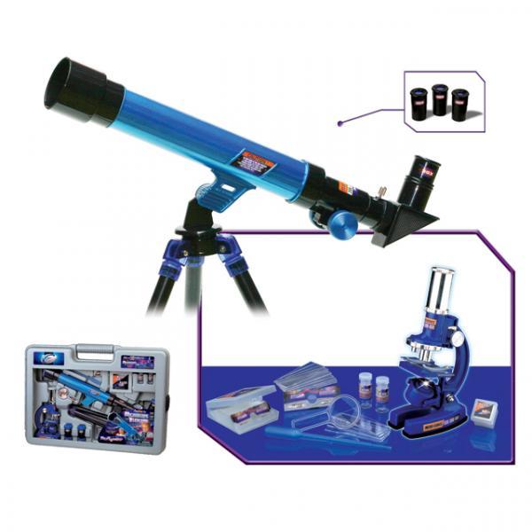 Çantalı Teleskop ve Mikroskop Seti