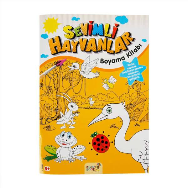 Sevimli Hayvanlar Boyama Kitabi Toyzz Shop