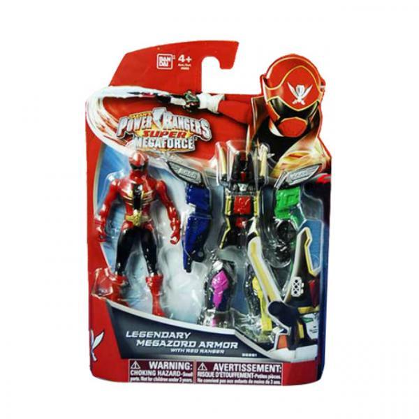 Power Rangers Süper Mega Force Zord Zırhlı Figür