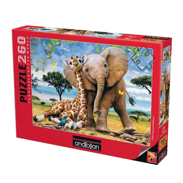 260 Parça Puzzle : İki Kafadar