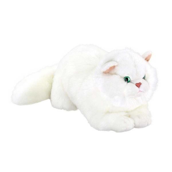 Yatan Kedi Peluş 34 cm.