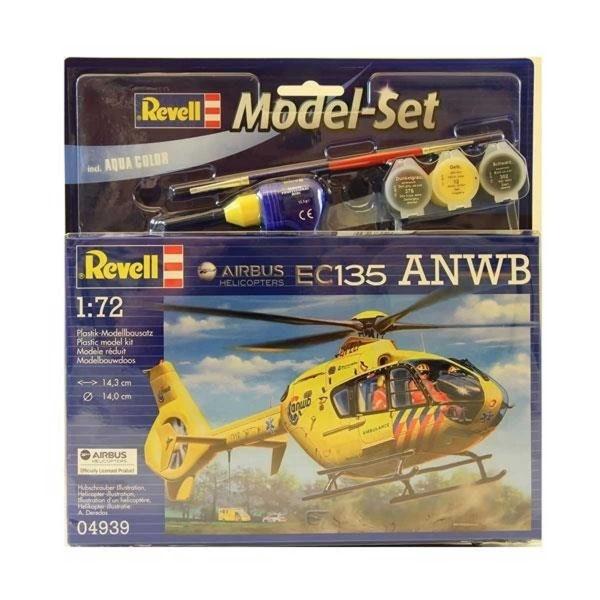 Revell 1:72 Heli EC135 Model Set Helikopter