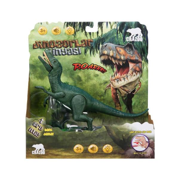 Sesli ve Işıklı Dinozor