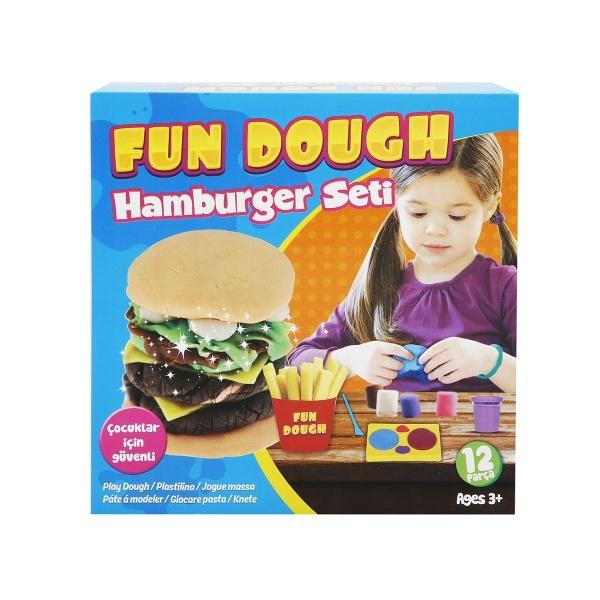 Hamburger Seti Oyun Hamuru