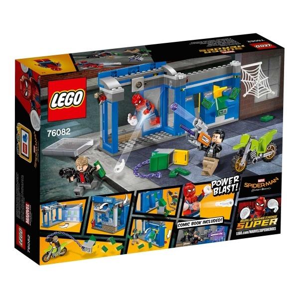LEGO Marvel Super Heroes ATM Soygunu Mücadelesi 76082