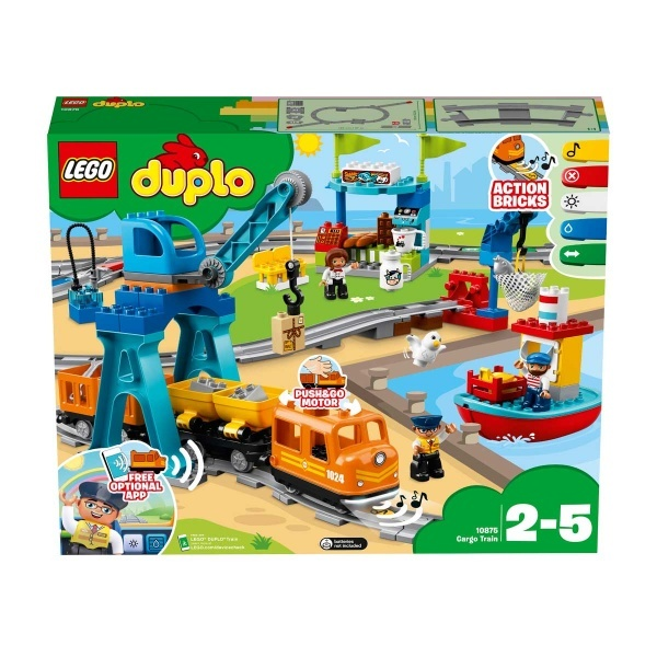 LEGO DUPLO Town Kargo Treni 10875