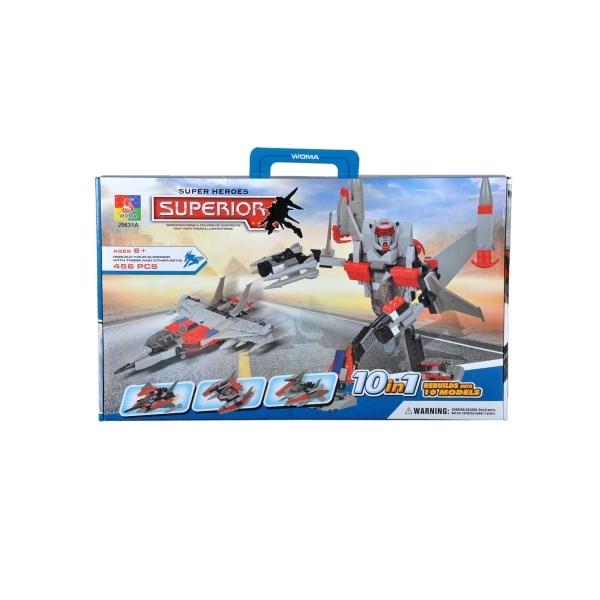 Yapım Seti: Super Heroes Uçak ve Tır Seti J5632A / J5631A