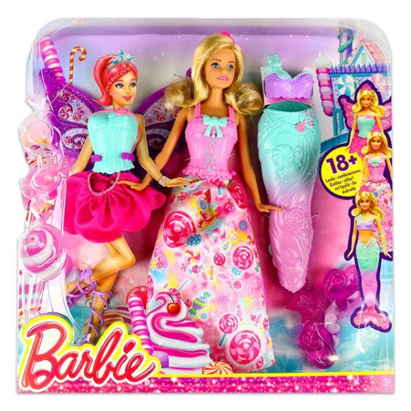 Sihirli Dönüşen Barbie