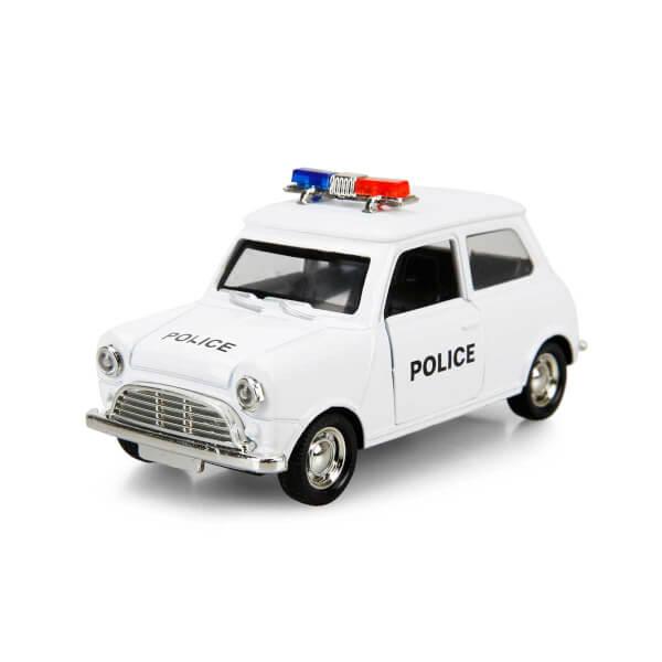 Maxx Wheels Işıklı Klasik Polis Model Arabalar 11 cm.
