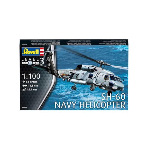 Revell 1:100 SH-60 Navy Helikopter 4955