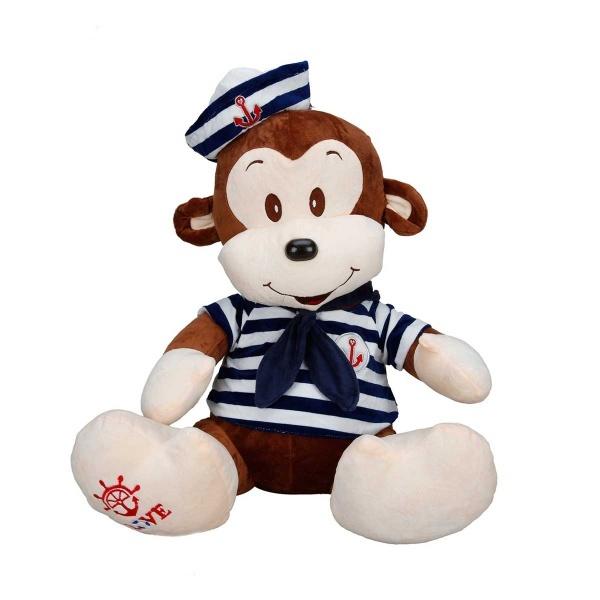 Maymun Denizci Peluş 50 cm.