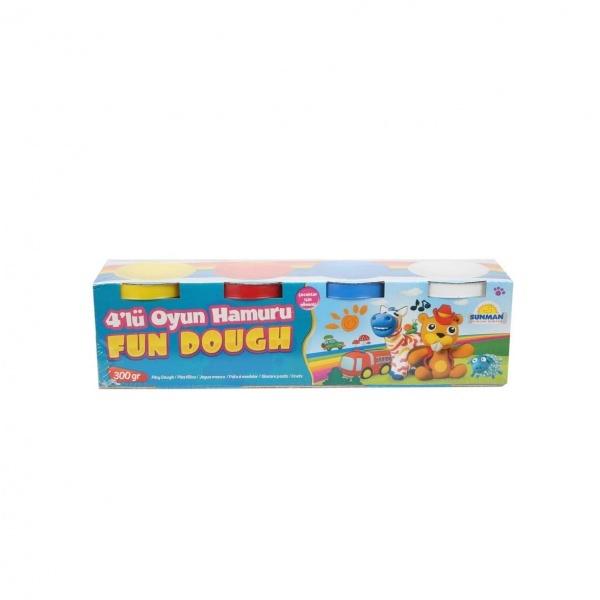 Fun Dough 4'lü Oyun Hamuru