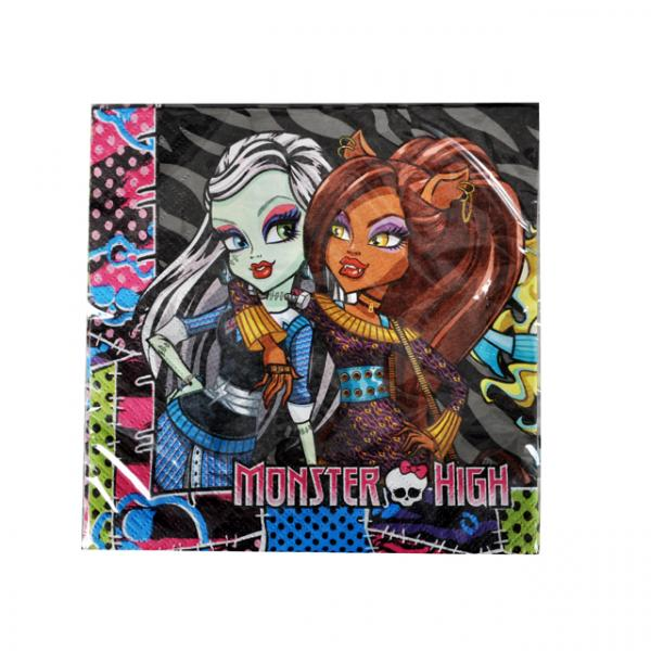 Monster High 20'li Peçete