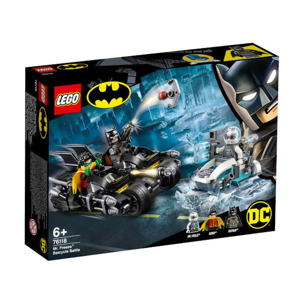 LEGO DC Comics Super Heroes Mr. Freeze Batcycle Savaşı 76118